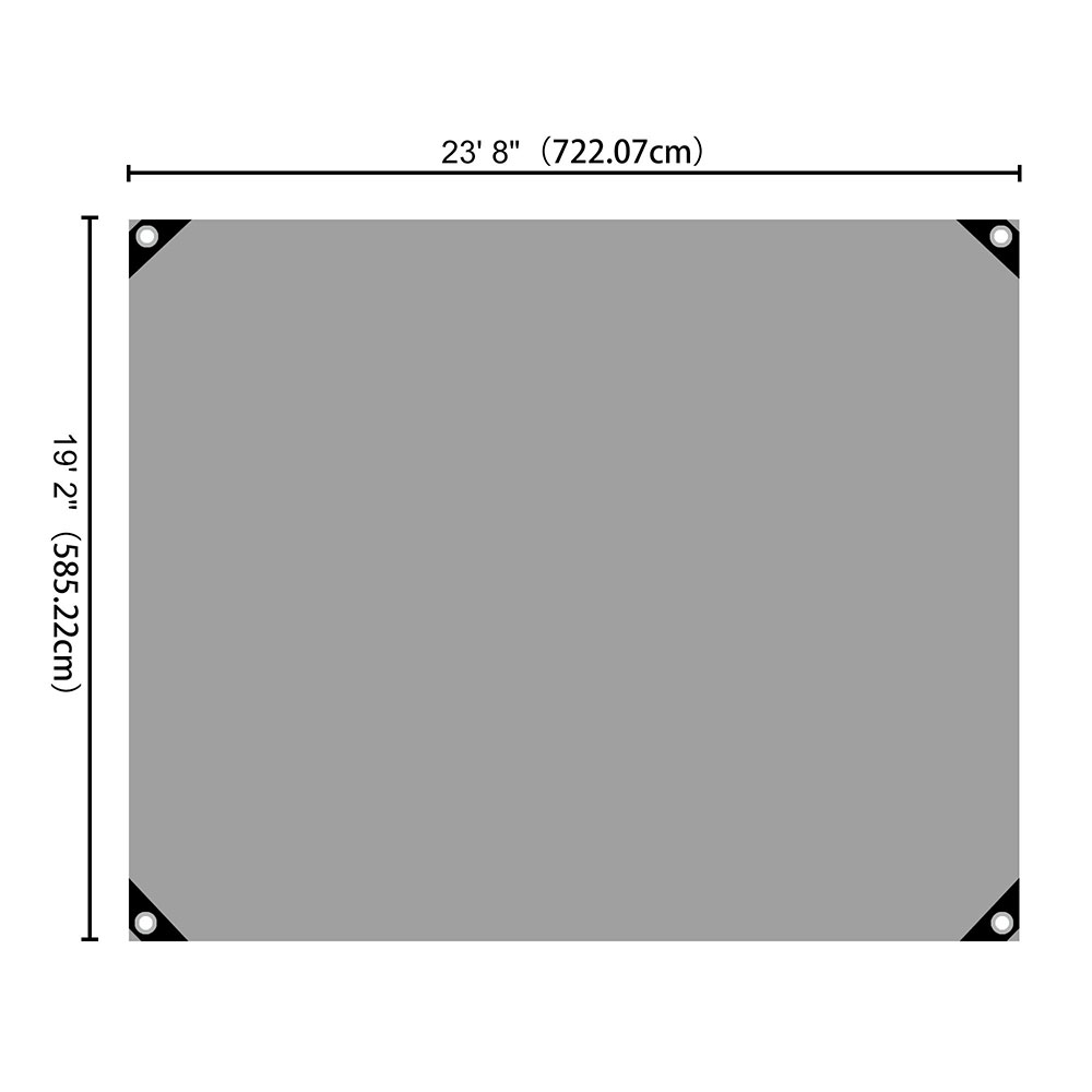 Heavy-Duty-Poly-Tarp-11mil-Waterproof-Tarpaulin-Reinforced-CoverCanopy-Tent-UV thumbnail 57
