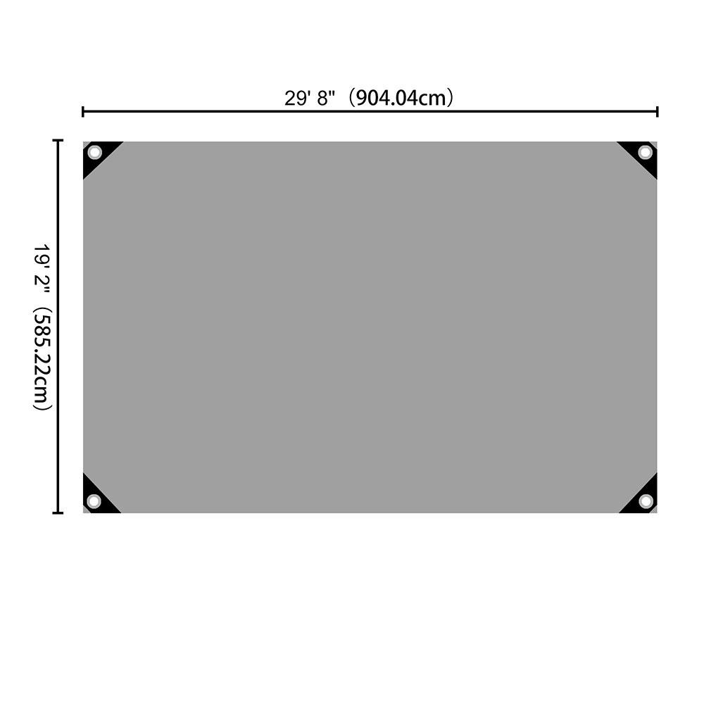 Heavy-Duty-Poly-Tarp-11mil-Waterproof-Tarpaulin-Reinforced-CoverCanopy-Tent-UV thumbnail 67