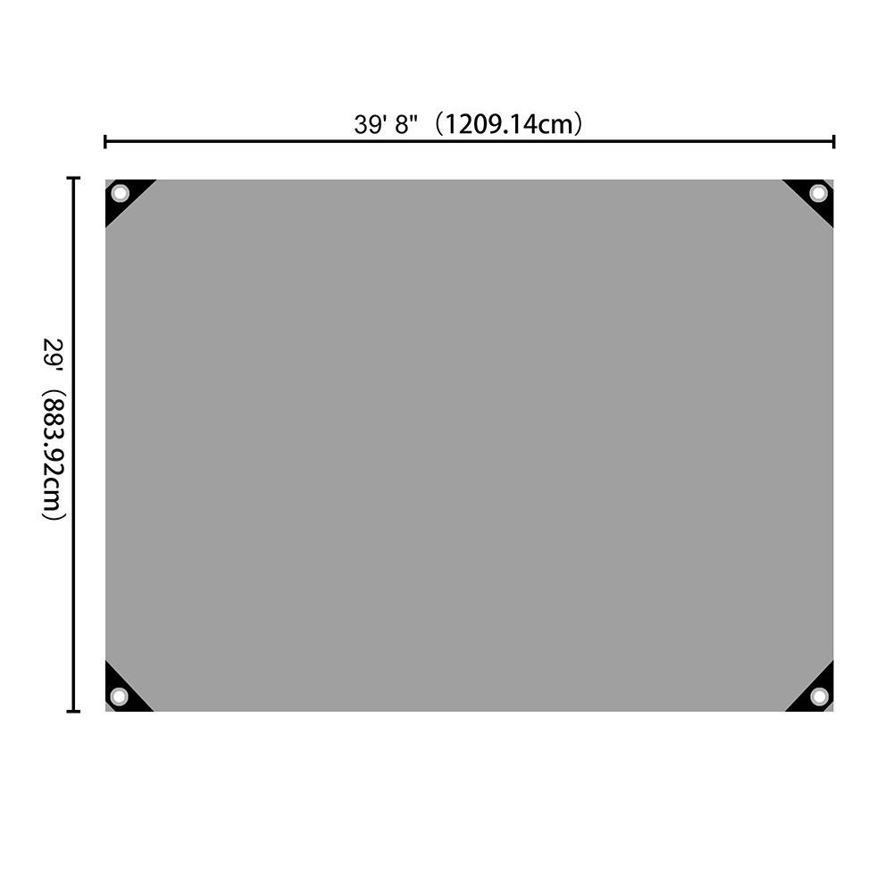 Heavy-Duty-Poly-Tarp-11mil-Waterproof-Tarpaulin-Reinforced-CoverCanopy-Tent-UV thumbnail 77