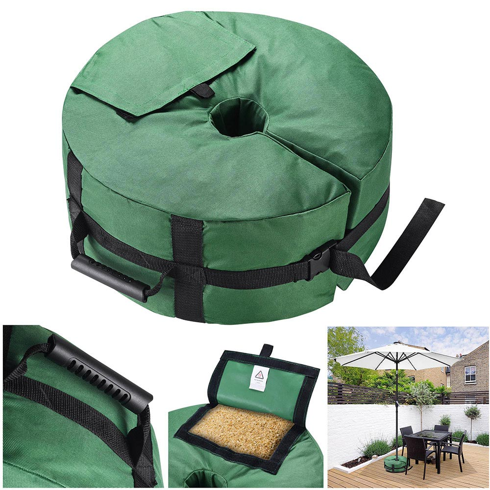 16-034-Round-Weight-Sand-Bag-for-Outdoor-Umbrella-Offset-Base-Stand-Patio-Garden thumbnail 12