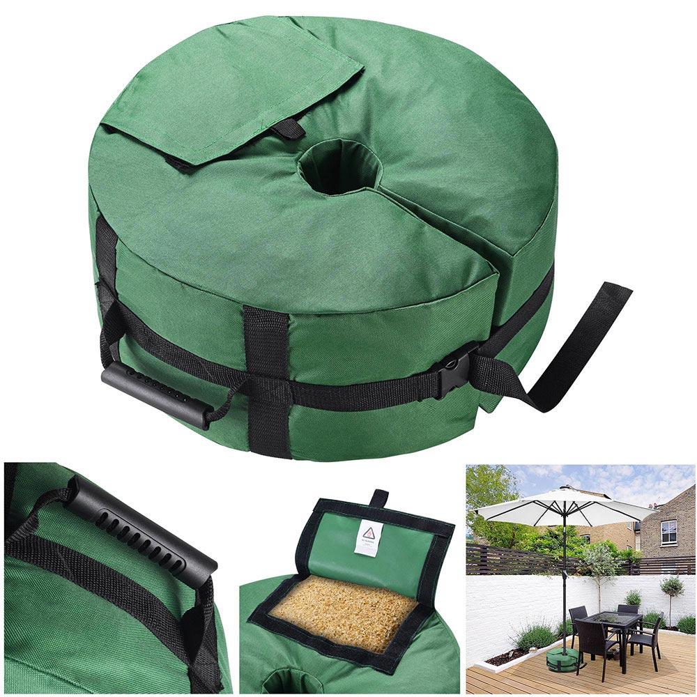 16-034-Round-Weight-Sand-Bag-for-Outdoor-Umbrella-Offset-Base-Stand-Patio-Garden thumbnail 12