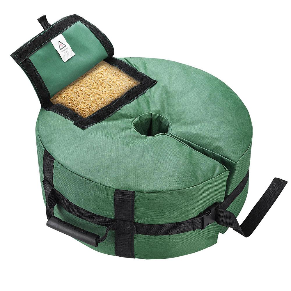 16-034-Round-Weight-Sand-Bag-for-Outdoor-Umbrella-Offset-Base-Stand-Patio-Garden thumbnail 16