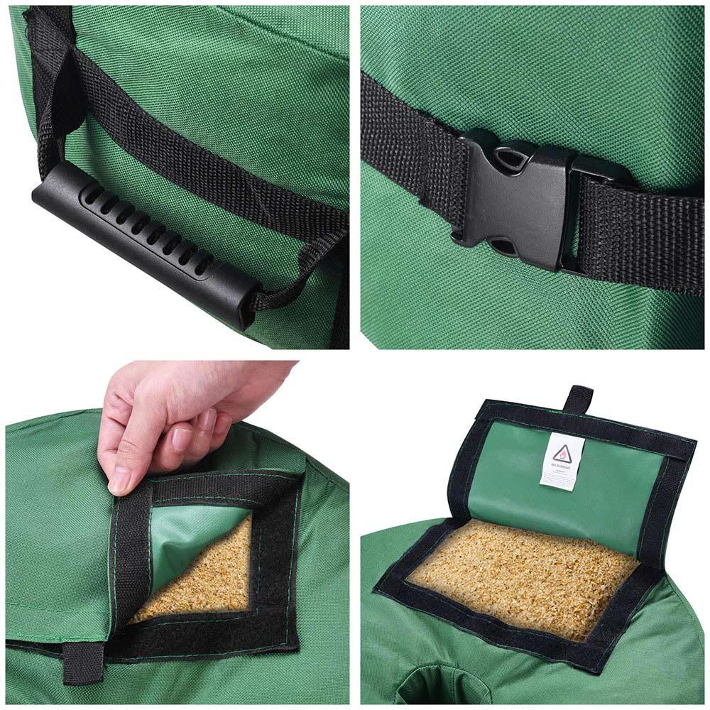 16-034-Round-Weight-Sand-Bag-for-Outdoor-Umbrella-Offset-Base-Stand-Patio-Garden thumbnail 17