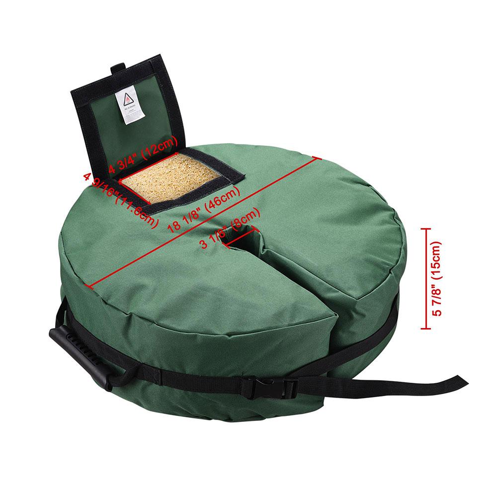 Round-Weight-Sand-Bag-for-Outdoor-Umbrella-Offset-Base-Stand-Patio-Garden thumbnail 15