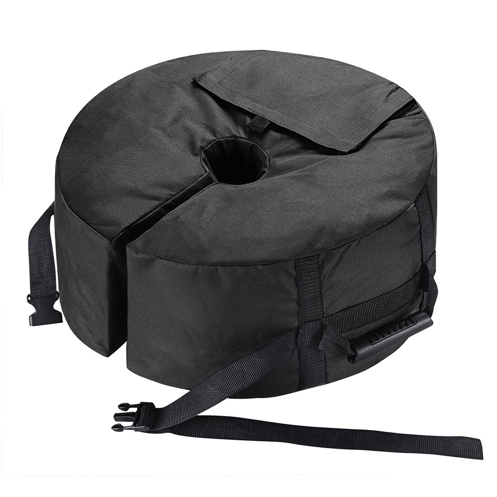 16-034-Round-Weight-Sand-Bag-for-Outdoor-Umbrella-Offset-Base-Stand-Patio-Garden thumbnail 4