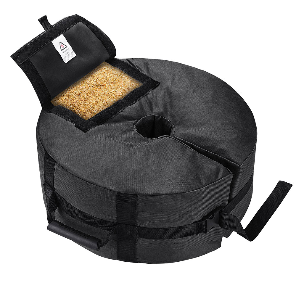 Round-Weight-Sand-Bag-for-Outdoor-Umbrella-Offset-Base-Stand-Patio-Garden thumbnail 7