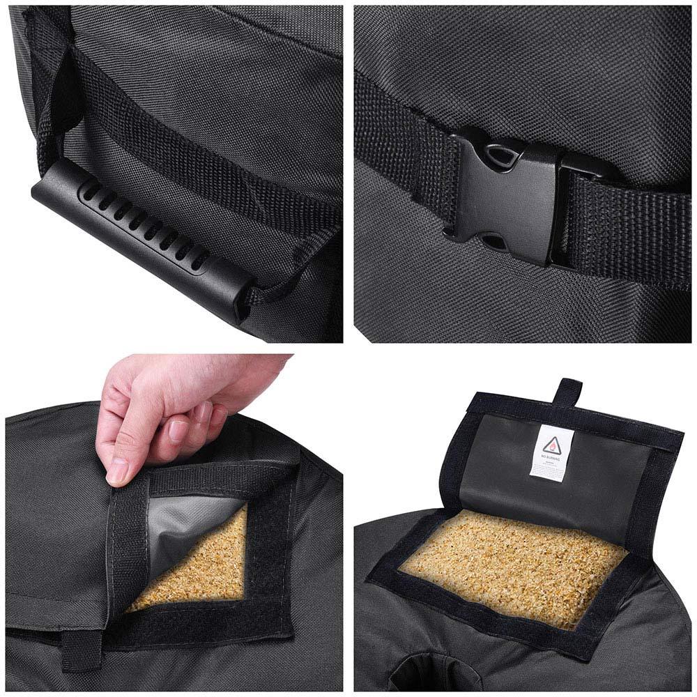 16-034-Round-Weight-Sand-Bag-for-Outdoor-Umbrella-Offset-Base-Stand-Patio-Garden thumbnail 8