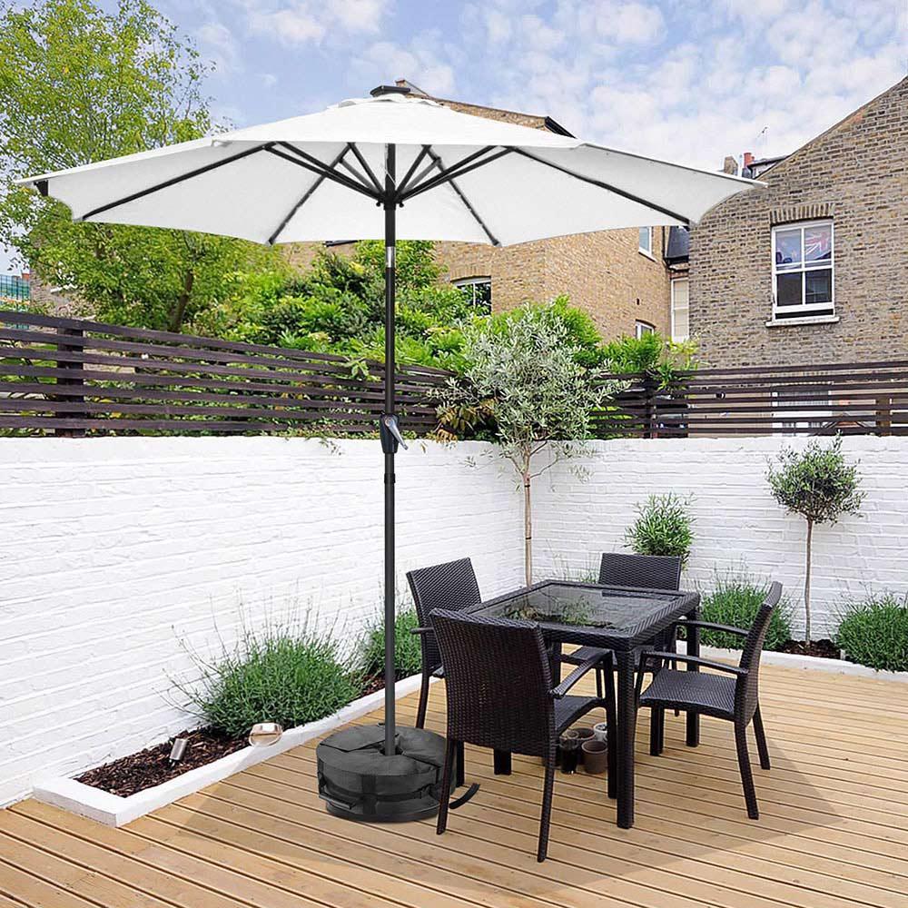 16-034-Round-Weight-Sand-Bag-for-Outdoor-Umbrella-Offset-Base-Stand-Patio-Garden thumbnail 9