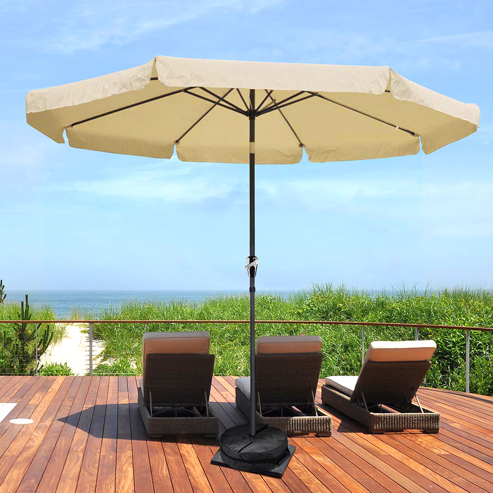 16-034-Round-Weight-Sand-Bag-for-Outdoor-Umbrella-Offset-Base-Stand-Patio-Garden thumbnail 10