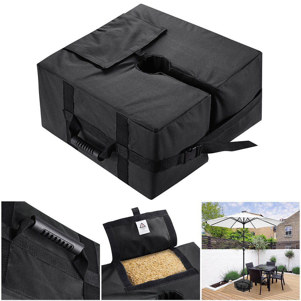 16-034-Square-Weight-Sand-Bag-for-Outdoor-Umbrella-Offset-Base-Stand-Patio-Garden thumbnail 3