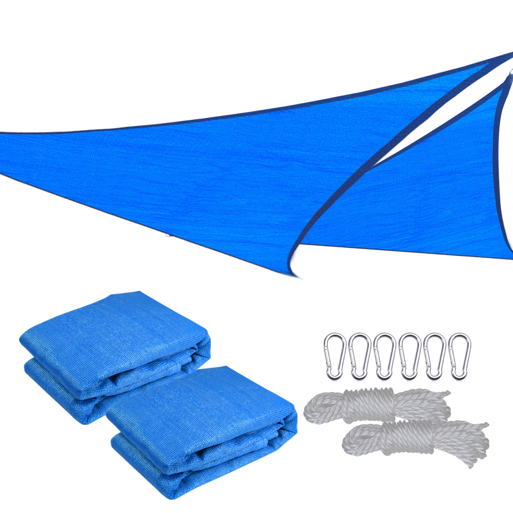 2-Pack-Sun-Shade-Sail-Patio-Outdoor-Canopy-  sc 1 st  eBay & 2 Pack Sun Shade Sail Patio Outdoor Canopy UV Block Top Cover ...