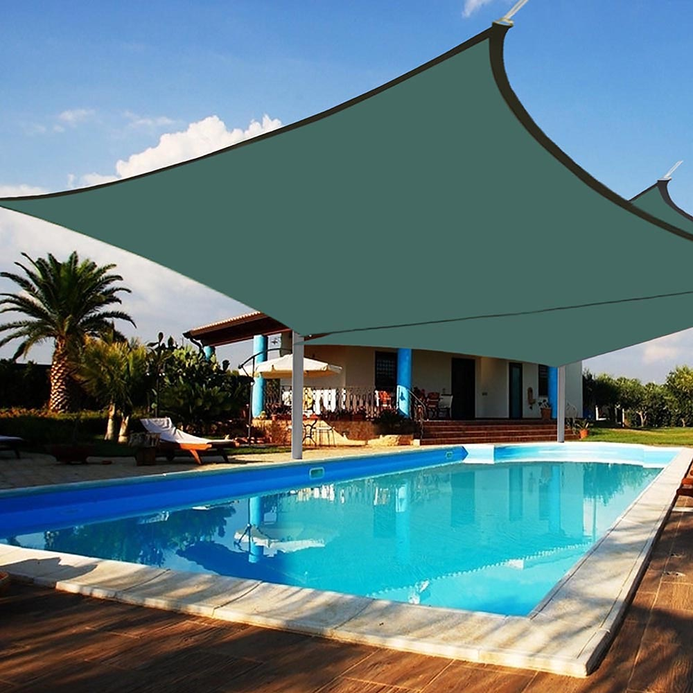 2 Pack Sun Shade Sail Patio Outdoor Canopy
