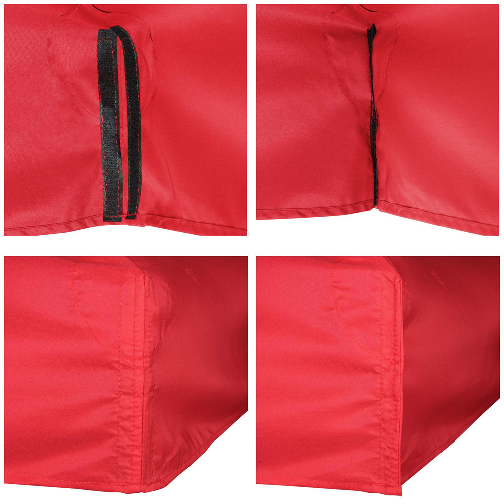 8x8-039-10x10-039-12x12-039-Gazebo-Top-Canopy-Replacement-UV30-Patio-Outdoor-Garden-Cover thumbnail 65