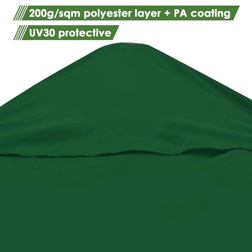 8x8-039-10x10-039-12x12-039-Gazebo-Top-Canopy-Replacement-UV30-Patio-Outdoor-Garden-Cover thumbnail 161