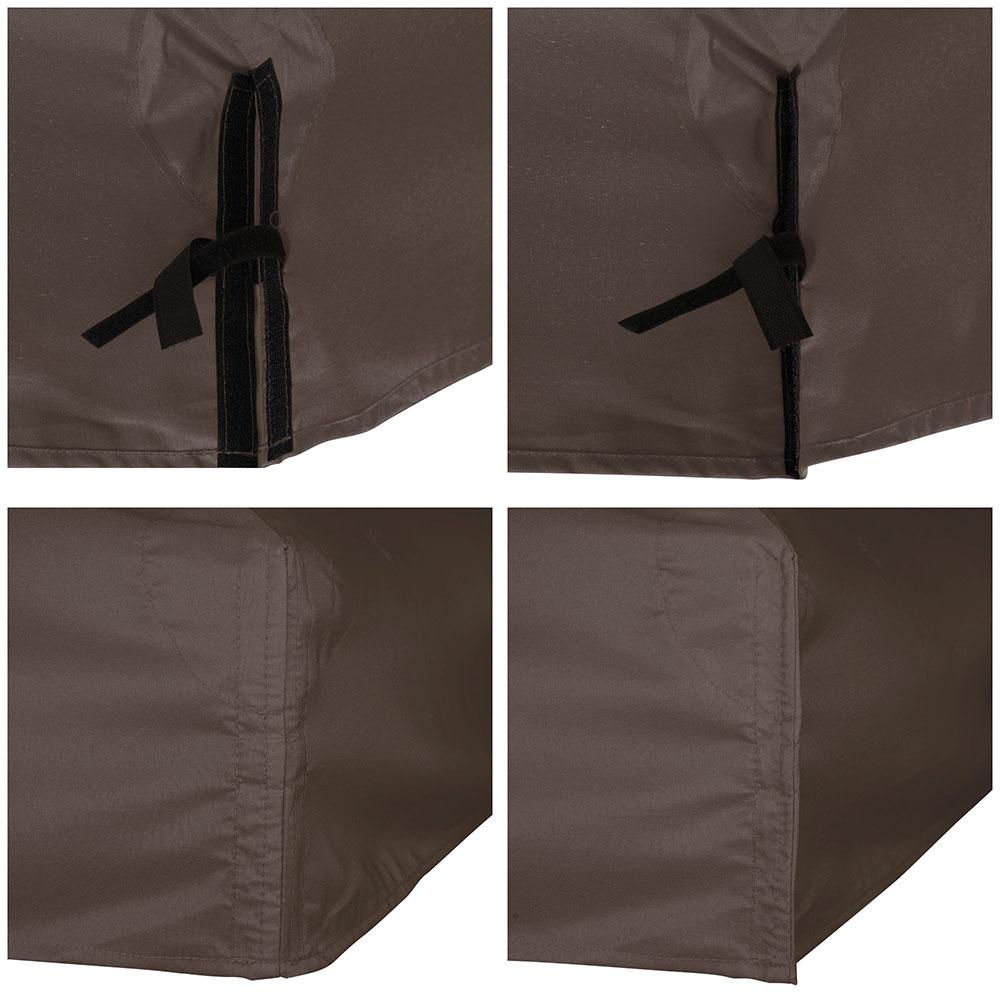 8x8-039-10x10-039-12x12-039-Gazebo-Top-Canopy-Replacement-UV30-Patio-Outdoor-Garden-Cover thumbnail 83
