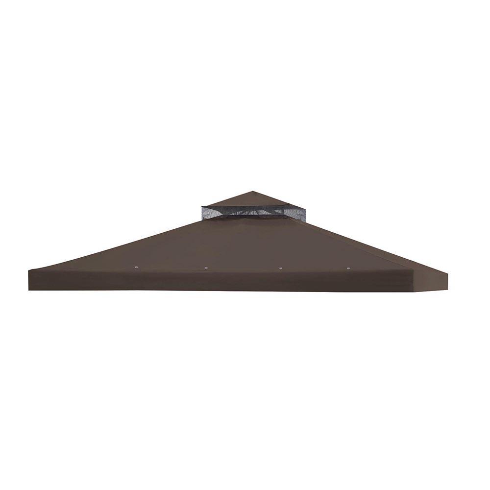 8x8-039-10x10-039-12x12-039-Gazebo-Top-Canopy-Replacement-UV30-Patio-Outdoor-Garden-Cover thumbnail 85