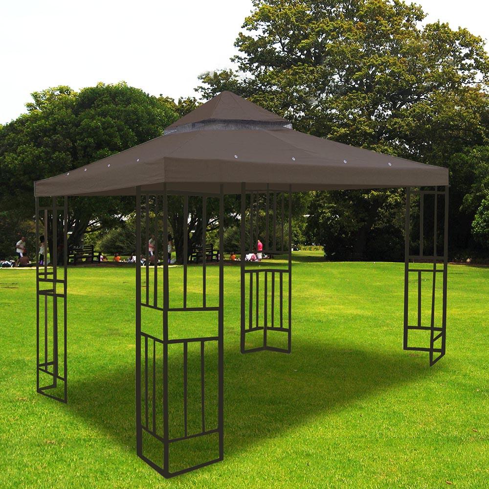 8x8-039-10x10-039-12x12-039-Gazebo-Top-Canopy-Replacement-UV30-Patio-Outdoor-Garden-Cover thumbnail 86
