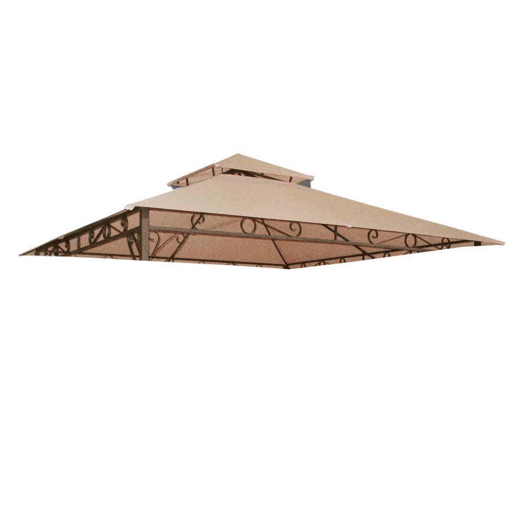 8x8-039-10x10-039-12x12-039-Gazebo-Top-Canopy-Replacement-UV30-Patio-Outdoor-Garden-Cover thumbnail 72