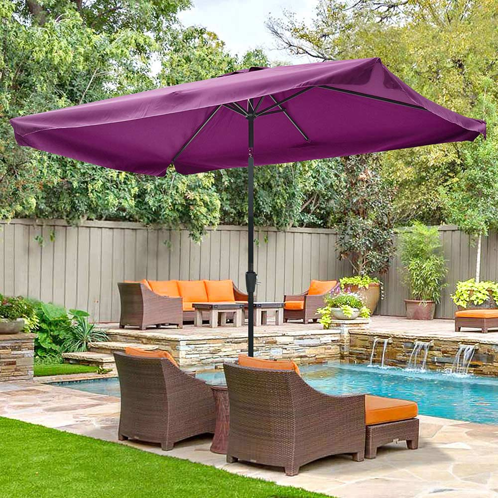 Outdoor-Patio-Umbrella-Aluminum-8ft-9ft-10ft-13ft-Common-LED-Option-Beach-Garden thumbnail 89