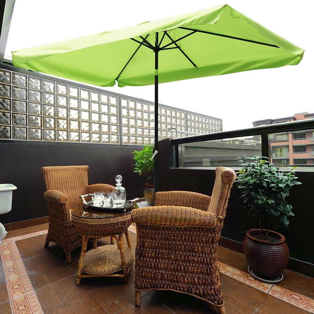 Outdoor-Patio-Umbrella-Aluminum-8ft-9ft-10ft-13ft-Common-LED-Option-Beach-Garden thumbnail 26
