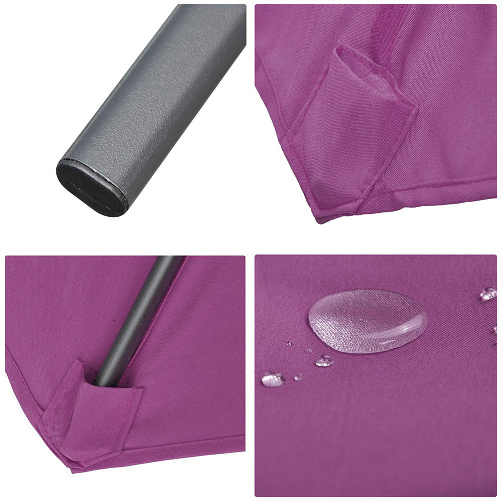 Outdoor-Patio-Umbrella-Aluminum-8ft-9ft-10ft-13ft-Common-LED-Option-Beach-Garden thumbnail 217