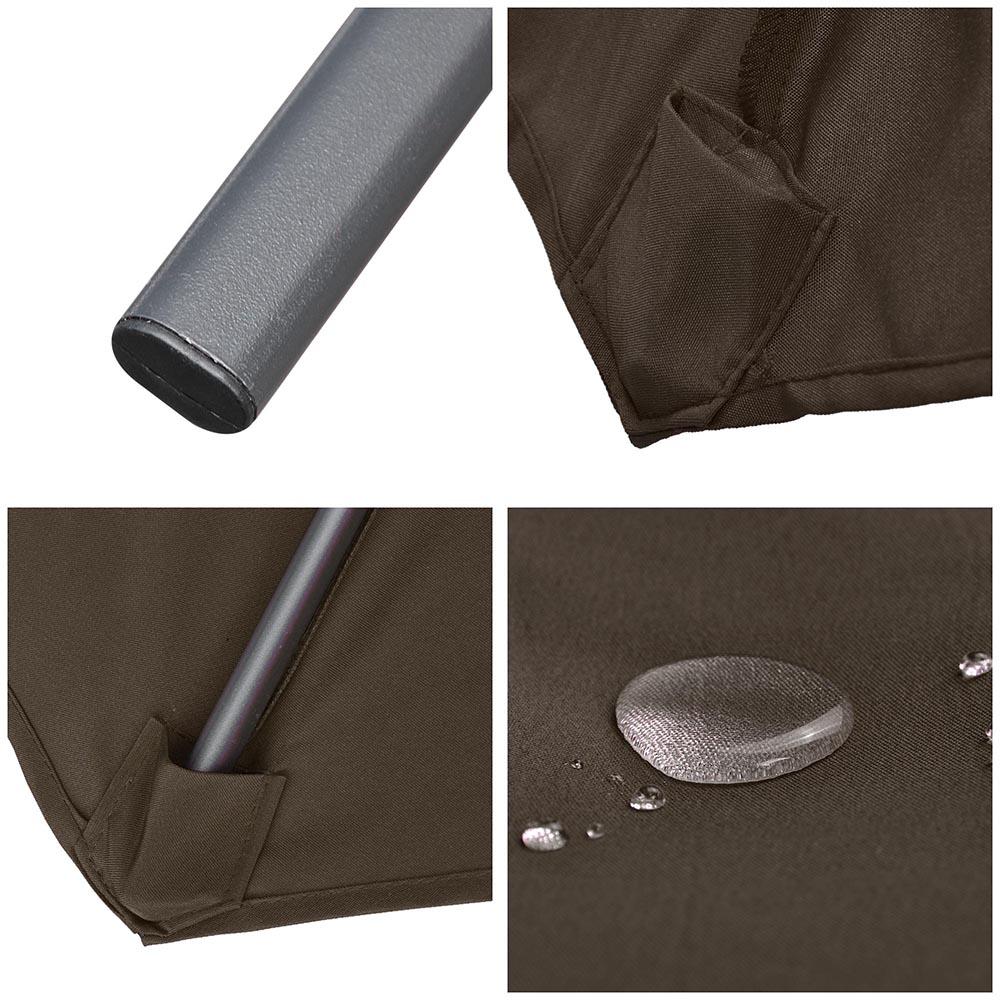 9ft-8-Ribs-Outdoor-Patio-Umbrella-Crank-Tilt-Market-Yard-Beach-Sunshade-UV-Block thumbnail 28