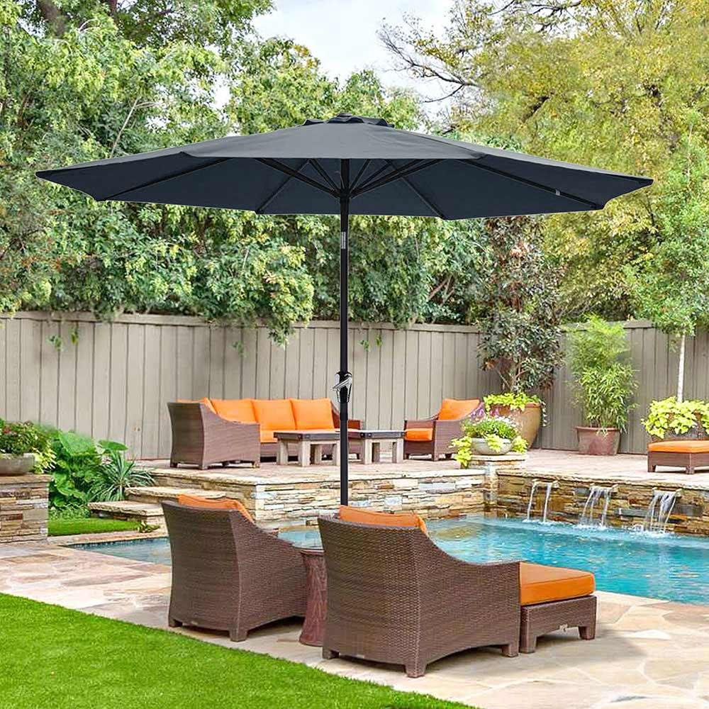 Outdoor-Patio-Umbrella-Aluminum-8ft-9ft-10ft-13ft-Common-LED-Option-Beach-Garden thumbnail 183