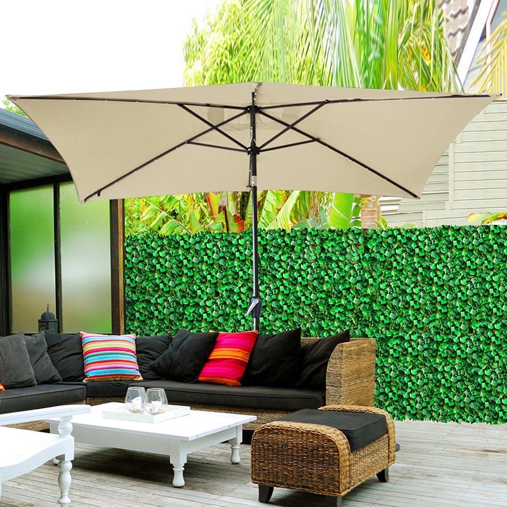 8ft/9ft/10ft/13ft Outdoor Patio Aluminum Umbrella Common