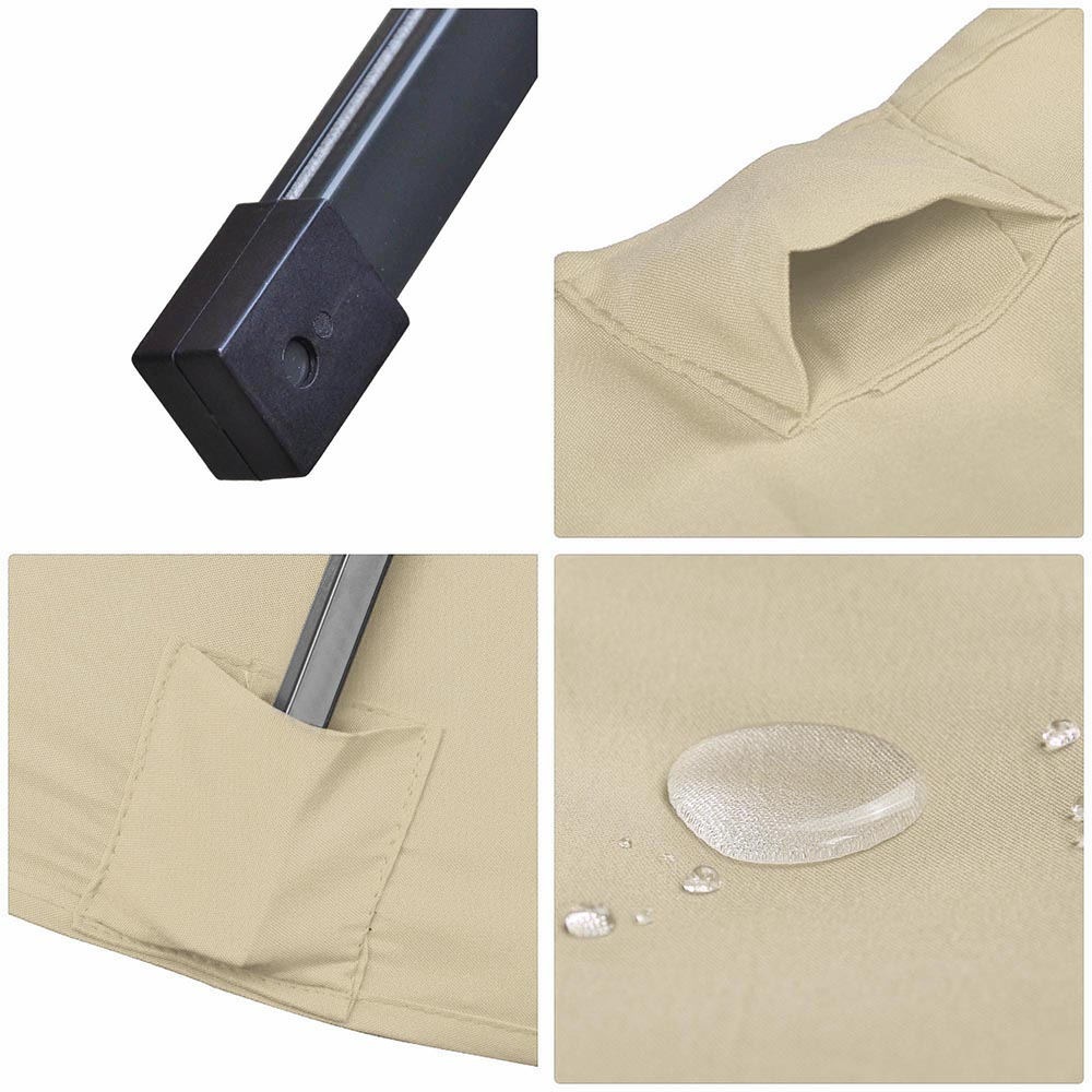 Outdoor-Patio-Umbrella-Aluminum-8ft-9ft-10ft-13ft-Common-LED-Option-Beach-Garden thumbnail 49