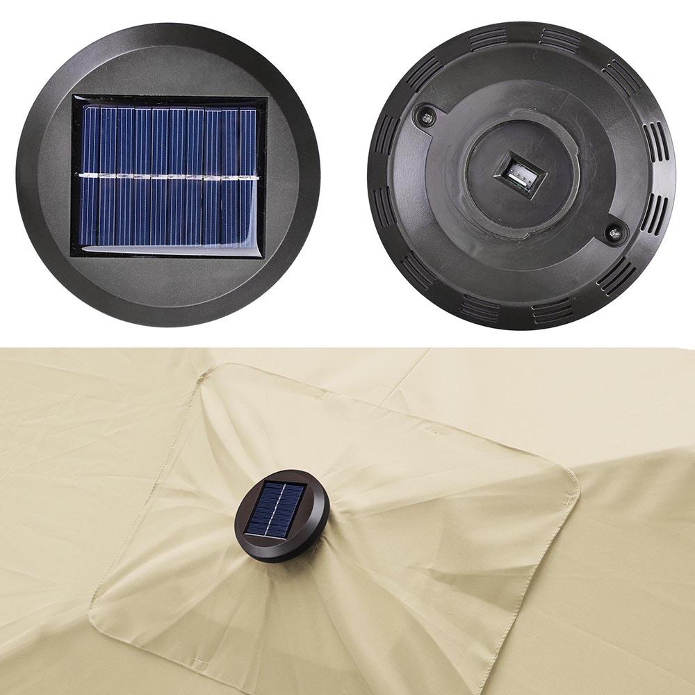 Outdoor-Patio-Umbrella-Aluminum-8ft-9ft-10ft-13ft-Common-LED-Option-Beach-Garden thumbnail 50