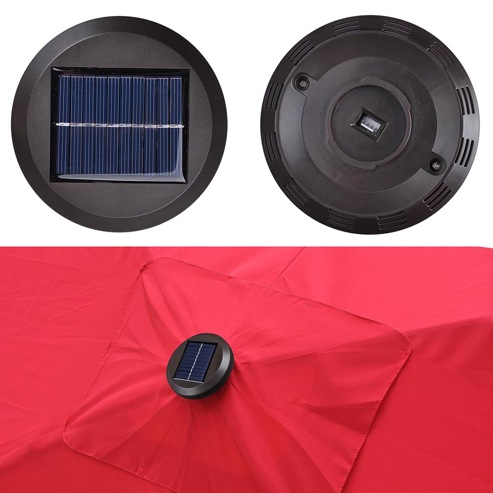 Outdoor-Patio-Umbrella-Aluminum-8ft-9ft-10ft-13ft-Common-LED-Option-Beach-Garden thumbnail 63