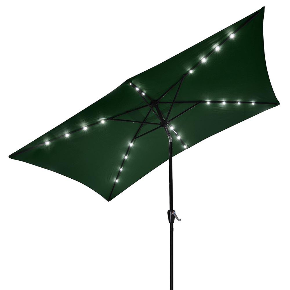 10-039-x6-5-039-Patio-Outdoor-Aluminum-Umbrella-Solar-LED-Light-Crank-Tilt-Sun-Shade