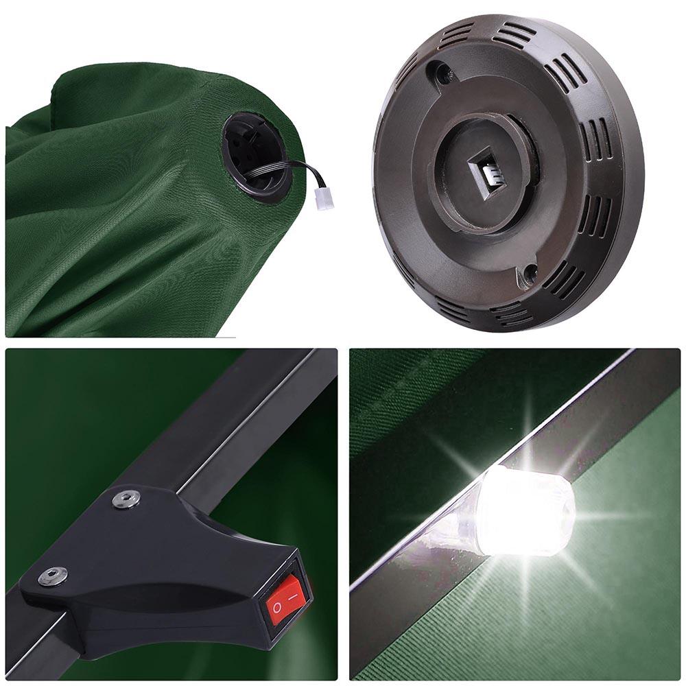 Outdoor-Patio-Umbrella-Aluminum-8ft-9ft-10ft-13ft-Common-LED-Option-Beach-Garden thumbnail 59
