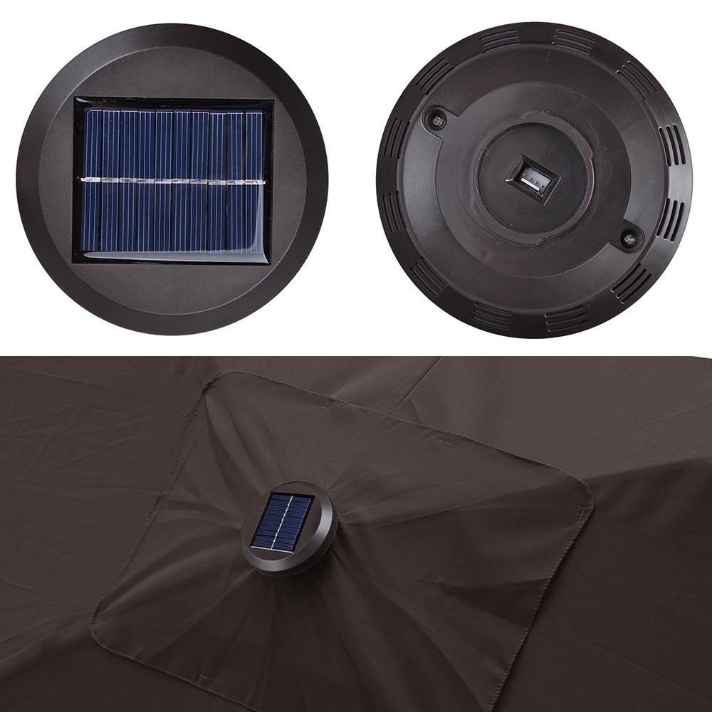 Outdoor-Patio-Umbrella-Aluminum-8ft-9ft-10ft-13ft-Common-LED-Option-Beach-Garden thumbnail 55