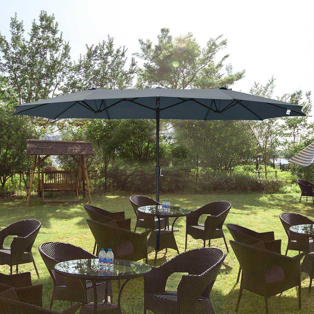 Outdoor-Patio-Umbrella-Aluminum-8ft-9ft-10ft-13ft-Common-LED-Option-Beach-Garden thumbnail 138