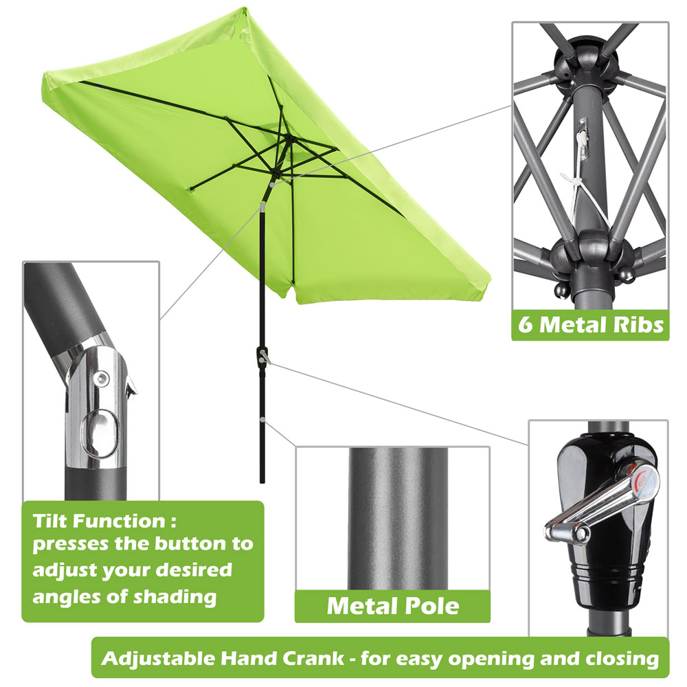 Outdoor-Patio-Umbrella-Aluminum-8ft-9ft-10ft-13ft-Common-LED-Option-Beach-Garden thumbnail 65
