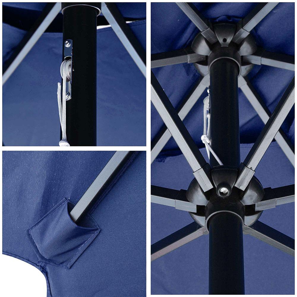 Outdoor-Patio-Umbrella-Aluminum-8ft-9ft-10ft-13ft-Common-LED-Option-Beach-Garden thumbnail 86