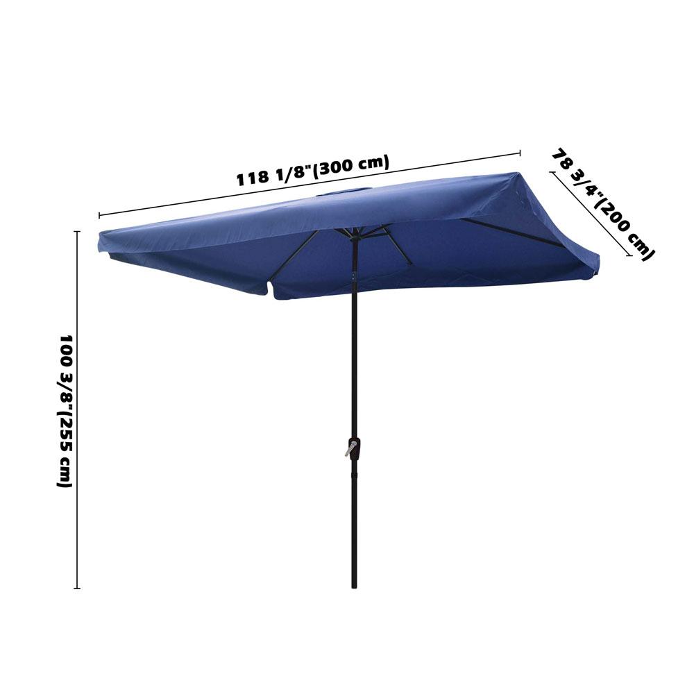 Outdoor-Patio-Umbrella-Aluminum-8ft-9ft-10ft-13ft-Common-LED-Option-Beach-Garden thumbnail 80