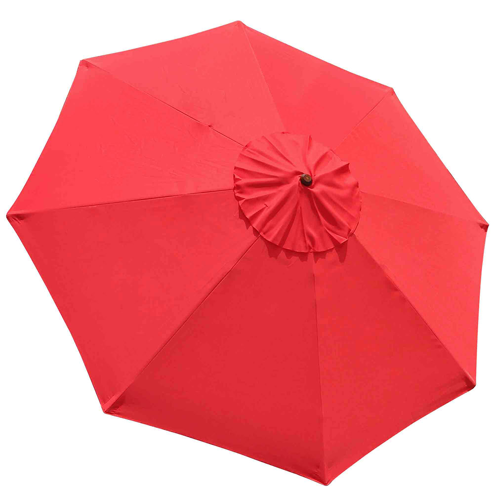 9FT-Patio-Umbrella-Canopy-Top-Cover-Replacement-8-Ribs-Market-Outdoor-Yard thumbnail 19