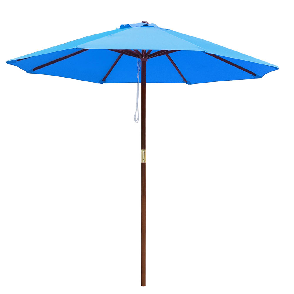 9FT-Patio-Umbrella-Canopy-Top-Cover-Replacement-8-Ribs-Market-Outdoor-Yard thumbnail 7