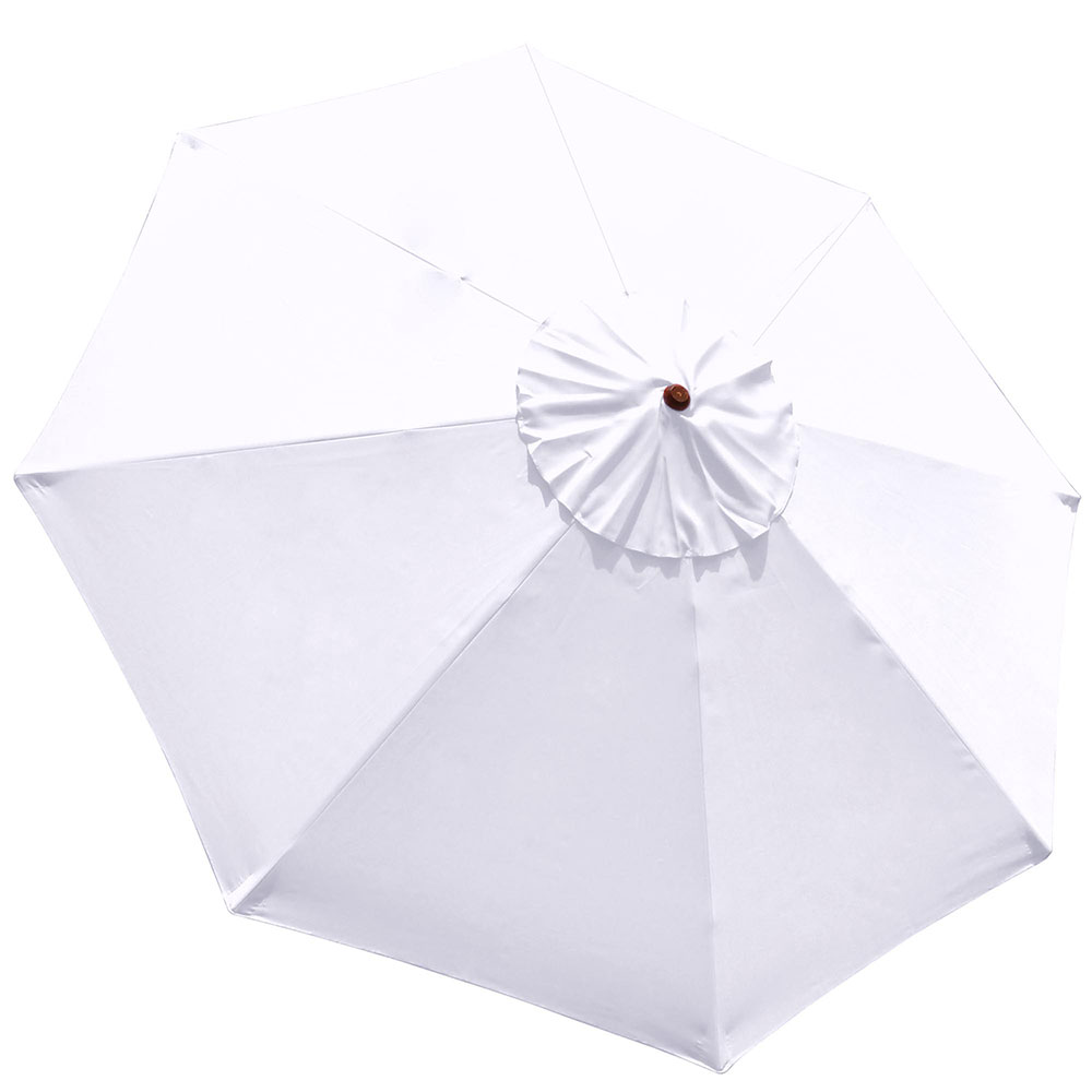 9FT-Patio-Umbrella-Canopy-Top-Cover-Replacement-8-Ribs-Market-Outdoor-Yard thumbnail 22