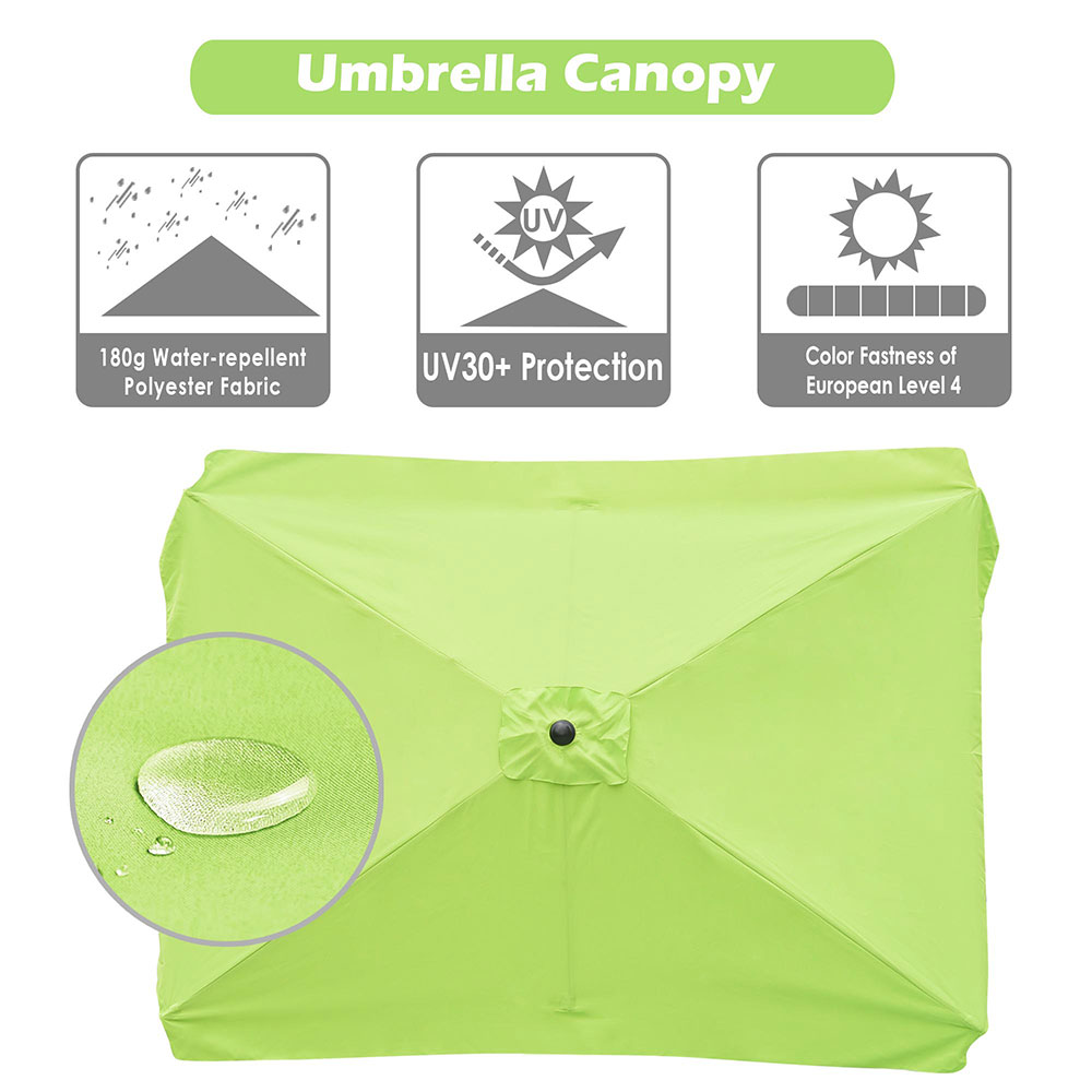 8-039-9-039-10-039-13-039-Umbrella-Replacement-Canopy-8-Rib-Outdoor-Patio-Top-Cover-Only-Opt thumbnail 19