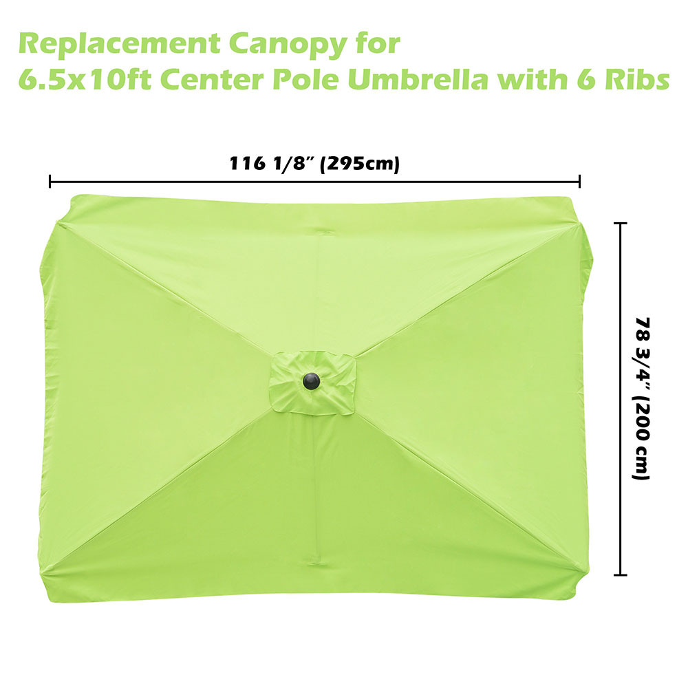 Details about 8'/9'/10'/13' Umbrella Replacement Canopy 8 Rib Outdoor Patio  Top Cover Only Opt