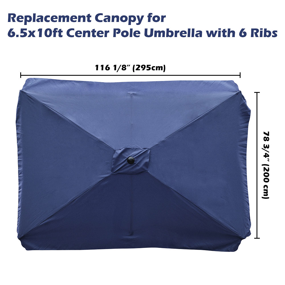 8-039-9-039-10-039-13-039-Umbrella-Replacement-Canopy-8-Rib-Outdoor-Patio-Top-Cover-Only-Opt thumbnail 25