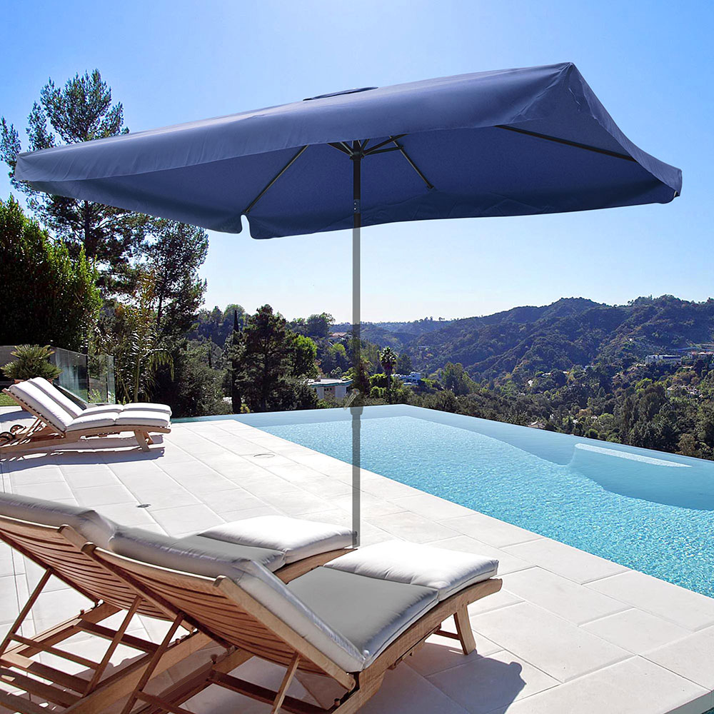 8-039-9-039-10-039-13-039-Umbrella-Replacement-Canopy-8-Rib-Outdoor-Patio-Top-Cover-Only-Opt thumbnail 29