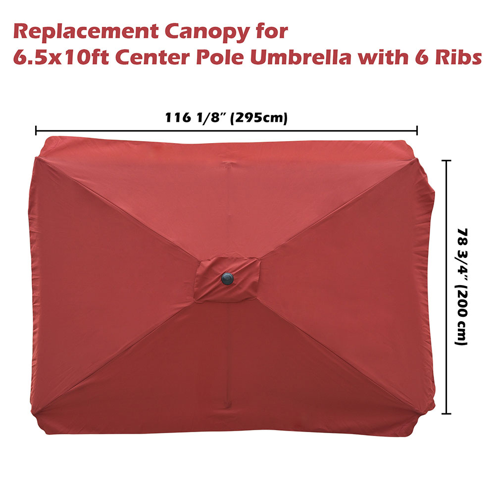 8-039-9-039-10-039-13-039-Umbrella-Replacement-Canopy-8-Rib-Outdoor-Patio-Top-Cover-Only-Opt thumbnail 32