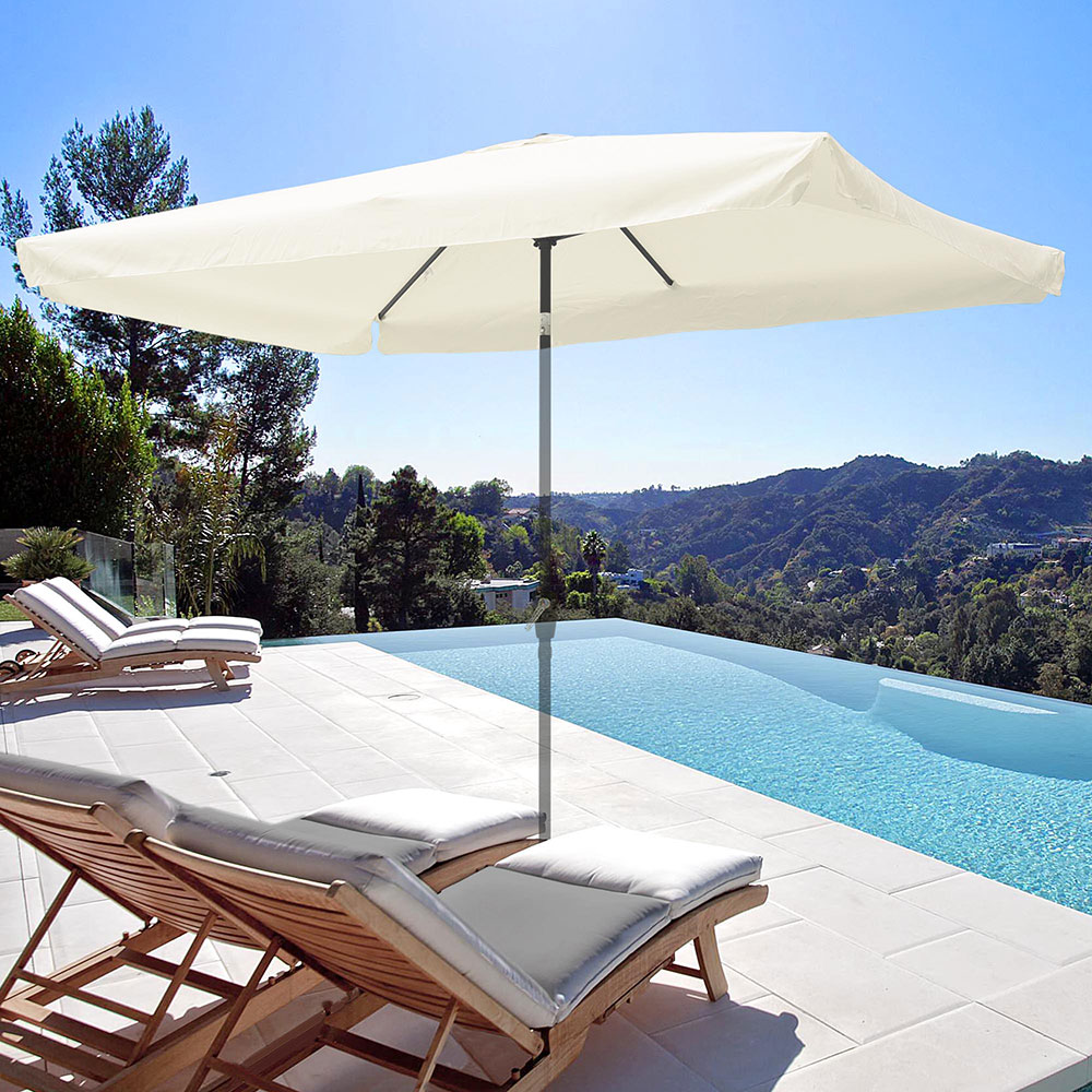 8-039-9-039-10-039-13-039-Umbrella-Replacement-Canopy-8-Rib-Outdoor-Patio-Top-Cover-Only-Opt thumbnail 17