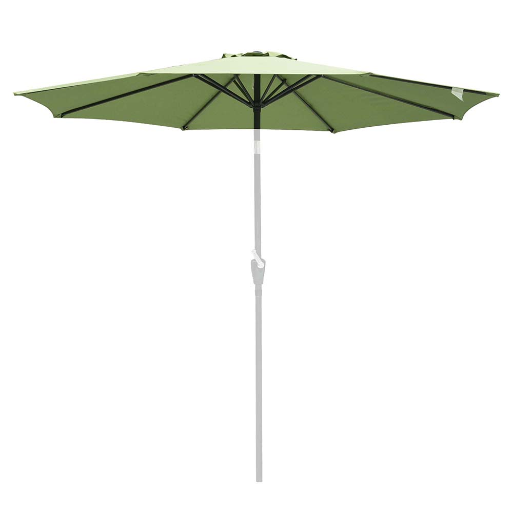 thumbnail 377 - 8'/9'/10'/13' Umbrella Replacement Canopy 8 Rib Outdoor Patio Top Cover Only Opt
