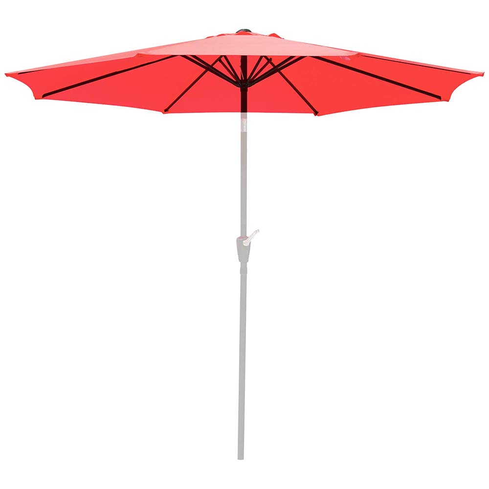 thumbnail 486 - 8'/9'/10'/13' Umbrella Replacement Canopy 8 Rib Outdoor Patio Top Cover Only Opt