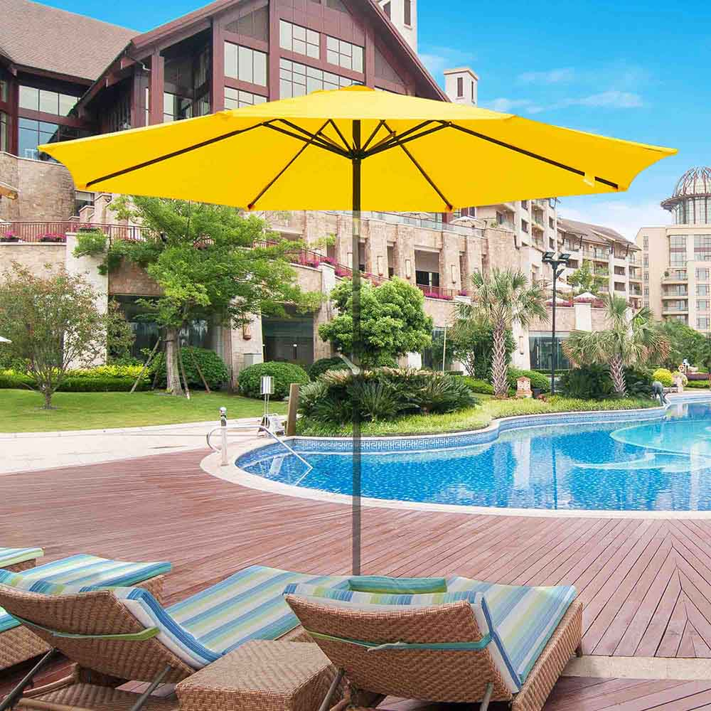 thumbnail 31 - 8'/9'/10'/13' Umbrella Replacement Canopy 8 Rib Outdoor Patio Top Cover Only Opt